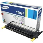 Samsung CLT-Y4092S lasertoner, gul, 1000s