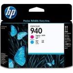 HP nr.940/C4901A printhoved, blå+rød