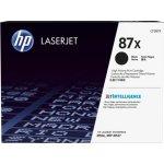 HP 87X/CF287XD lasertoner sort, 18000s, 2-pak