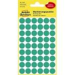 Avery 3143 Manuelle etiketter, 12mm, grøn