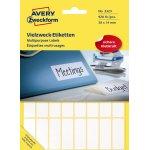 Avery 3323 manuelle etiketter, 38 x 14mm, 928stk