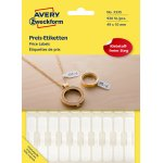 Avery 3335 ring etiketter, 54 x 11mm, 924stk