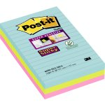 Post-it Super Sticky Notes 101 x 152 mm, Miami