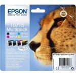 Epson T0715 Multi pack, C13T07154012 blækpatron