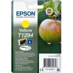 Epson nr.T1294/C13T12944012 blækpatron, gul, 440s
