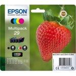 Epson Nr. 29 blækpatron, multipak, 4 farver