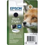 Epson nr.T1281/C13T12814022 blækpatron, sort, 170s