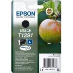 Epson nr.T1291/C13T12914022 blækpatron, sort, 385s