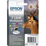 Epson nr.T1306/C13T13064022 blækpatron, multipakke