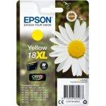 Epson 18/C13T18144022 gul blækpatron, 450s m/alarm
