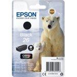 Epson nr.T2601/C13T26014022 blækpatron, sort, 220s