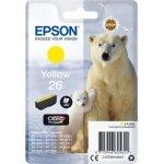 Epson nr.T2614/C13T26144022 blækpatron, gul, 300s