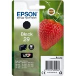 Epson C13T29814022 blækpatron, sort m/alarm