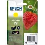 Epson C13T29844022 blækpatron, gul m/alarm