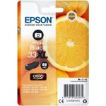 Epson C13T33314022 blækpatron, sort XL m/alarm