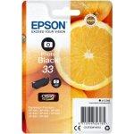 Epson C13T33414022 blækpatron, foto-sort m/alarm