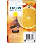 Epson C13T33444022 blækpatron, gul m/alarm