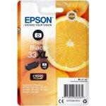Epson C13T33514022 blækpatron, sort XL m/alarm