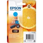 Epson C13T33624022 blækpatron, blå, 33XL