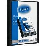 Bantex demomappe A4, med 20 lommer, sort