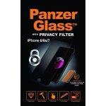PanzerGlass privacyfilter til iPhone 6/6S/7/8
