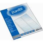 Bantex visitkortlomme A4, 20 kort, 10 stk.