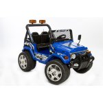 El-drevet Azeno Buffalo Jeep, 12V, blå