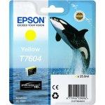 Epson T76044010 blækpatron 25.9 ml., gul
