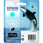 Epson T76024010 blækpatron 25.9 ml., cyan