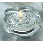 Lotte LED fyrfadslys, Klart glas, 2 stk