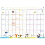 Mayland Vægkalender m. årsoversigt, HC Andersen