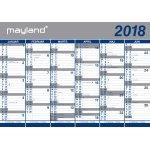 Mayland Kæmpekalender, 2x6 mdr.,10 stk.