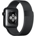 Apple urrem, Sort Milanese Loop, 42mm