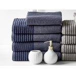 Södahl Mist håndklædesæt, China Blue/Indigo Blue