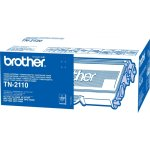 Brother TN2110  lasertoner, sort, 1500s