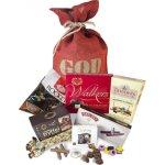 Den røde julesæk m. slik og chokolade, 1035 g