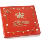 Sv. Michelsen Rød kroneæske m chokolade, 400g