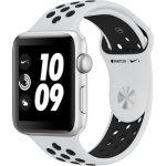 Apple Watch Series 3 Nike+, 38mm, sølvfarvet