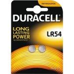 Duracell LR54 knapcelle batteri, 2stk.