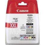 Canon CLI-581XXL C/M/Y/BK Multipakke, 2400s