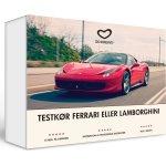 Oplevelsesgave - Testkør en Ferrari