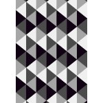 Xana tæppe, 133x195 cm., grå