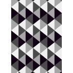 Xana tæppe, 200x290 cm., grå