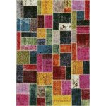 Maci tæppe, 133x195 cm., flerfarvet
