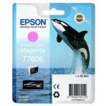 Epson T76064010 blækpatron, 25.9 ml., lys magenta