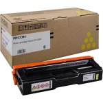 Ricoh 407546 lasertoner, gul, 1.600s