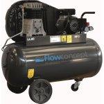 Flowconcept kompressor 90 l 3 hp olieholdig