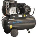 Flowconcept kompressor 90 l 4 hp olieholdig