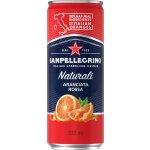 San Pellegrino m/blodappelsin 0,33 l