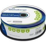MediaRange DVD-R 16x 4.7GB spindle, 25 stk